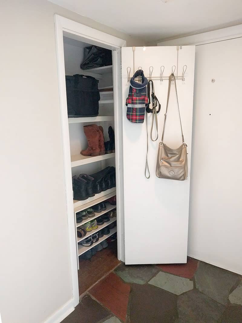 Foyer Mudroom Kit : Tools for organizing your entryway the mostly simple