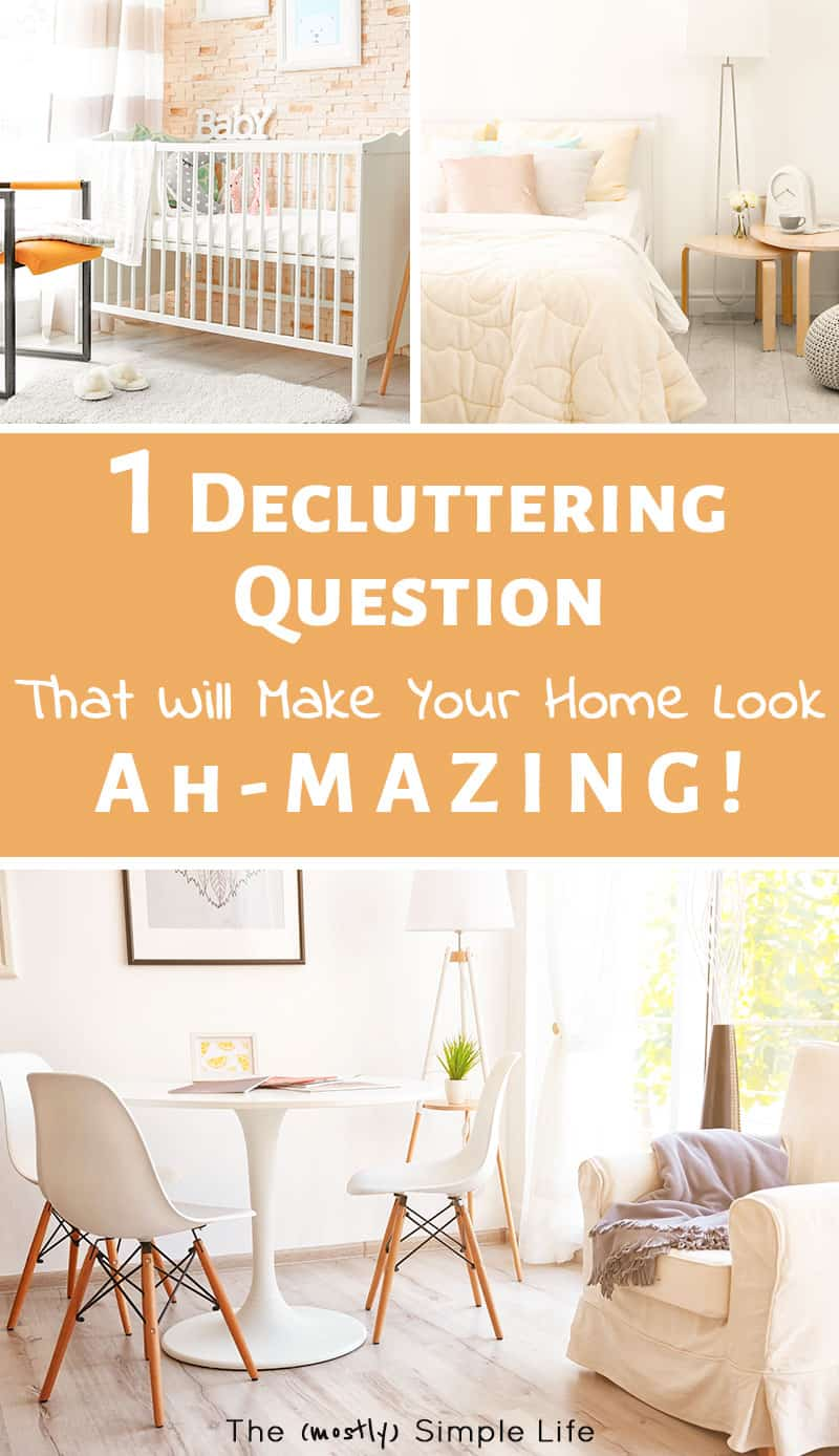 This is one of my favorite tips / hacks for decluttering! It helps us declutter and organize fast, especially in our bedroom (the clothes and closet). Such good inspiration. #organized #organize #homeorganization #delcutter #decluttering #motivation #inspiration #hacks #homehacks #declutterhacks #springcleaning #hometips