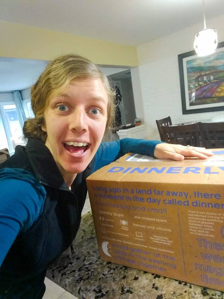 Dinnerly Review: The Box!