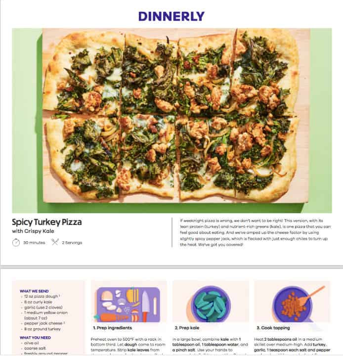 Dinnerly Review: The Digital Recipe Cards