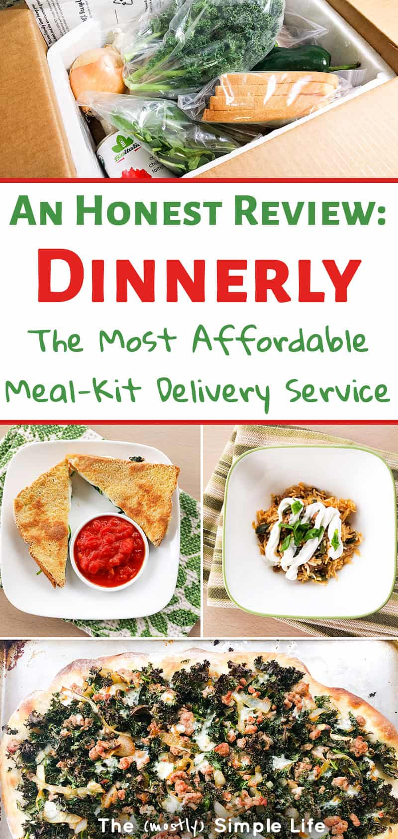 Check out this honest review of Dinnerly, the cheap meal delivery service. Are they the best meal kit delivery for families? Read all about this affordable dinner box! #mealkit #mealdelivery #dinnerly #blueapron #mealkitdelivery #easydinner #healthydinner #30minutesmeals