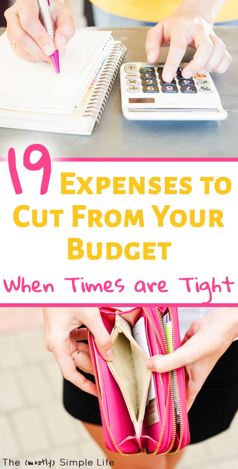 19 Expenses to Cut From Your Budget When Things are Tight