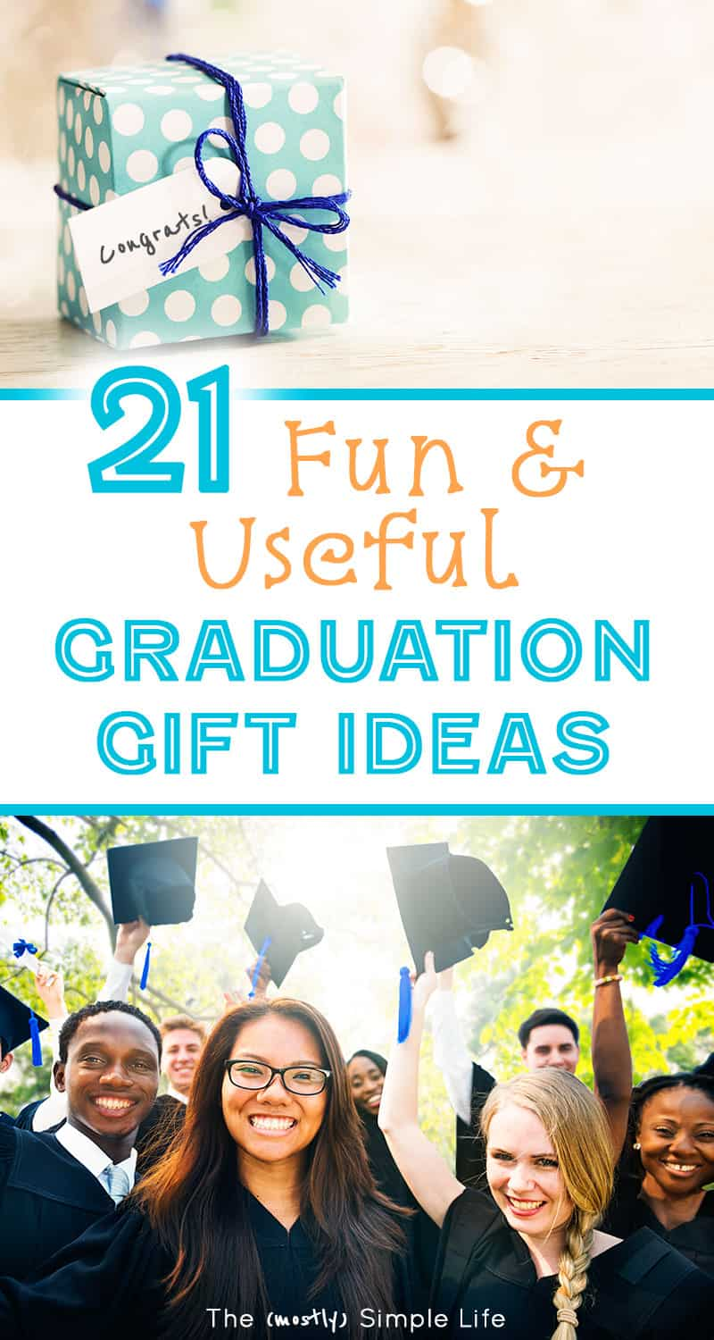 So many unique high school graduation gift ideas - especially for \'almost\' college students that will be in a dorm room. Most are inexpensive and budget friendly. Good ideas for girls and for boys. #graduation #classof2018 #graduationgifts #giftideas #graduationgiftguide #dormroom #college #uniquegifts #graduationgiftideas #highschoolgraduation #budgetgiftideas #openhouse #graduationopenhouse #giftguide