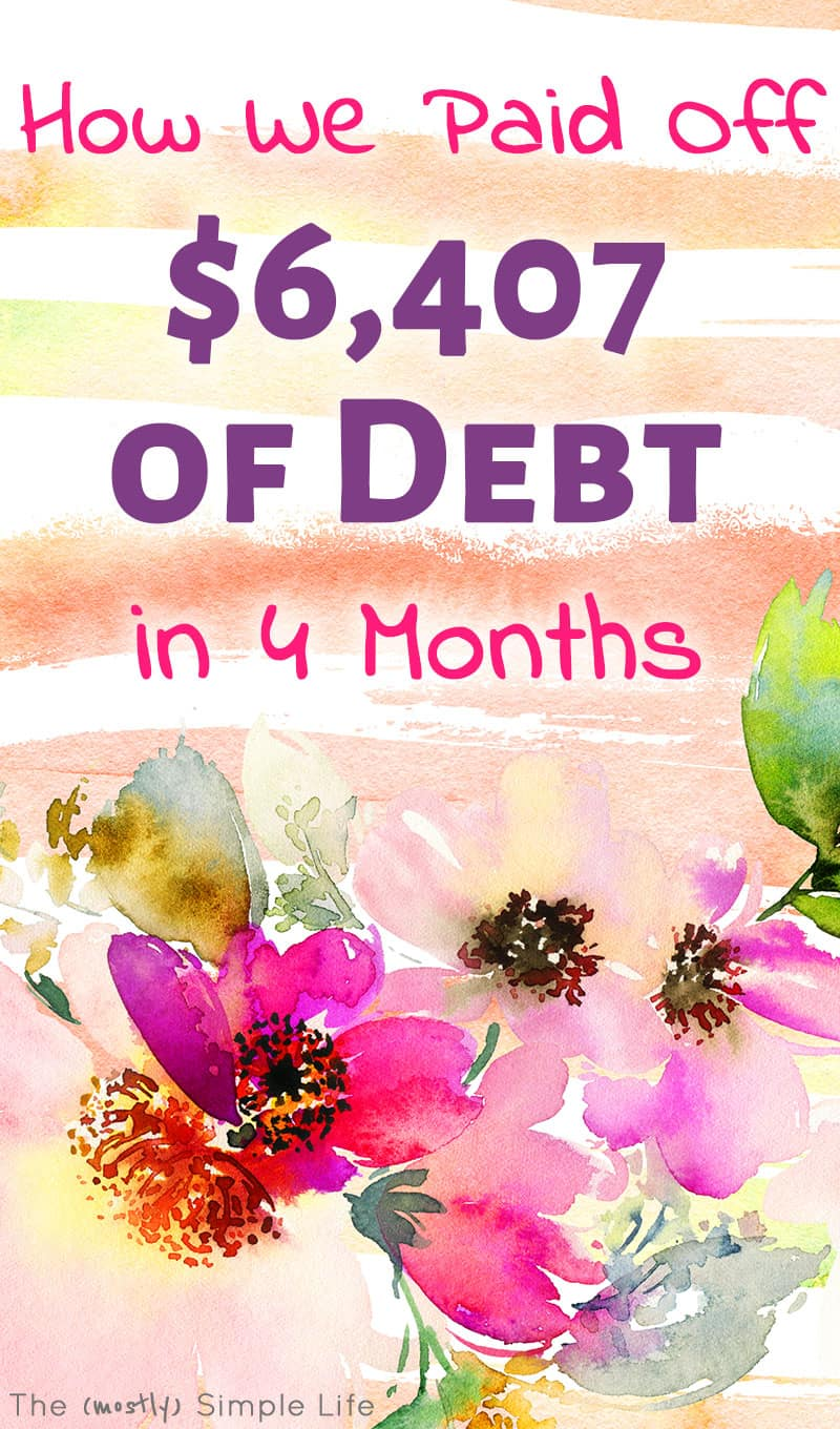 Debt payoff update! All about how to get out of debt fast! You can see my bullet journal, the visual that keeps me going. Tips on how we're making and saving extra money too. #debtpayoff #daveramsey #snowball #budget #debt #debtfree #debtfreejourney #debtfreecommunity #bulletjournal