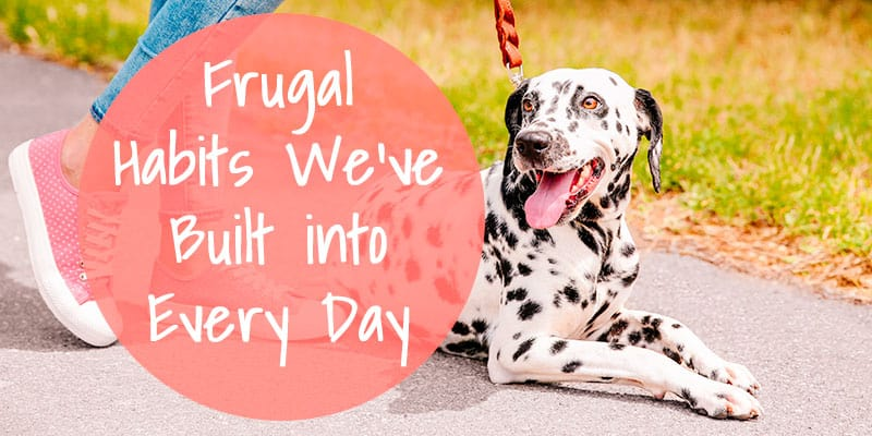 Frugal Habits We've Built into Every Day