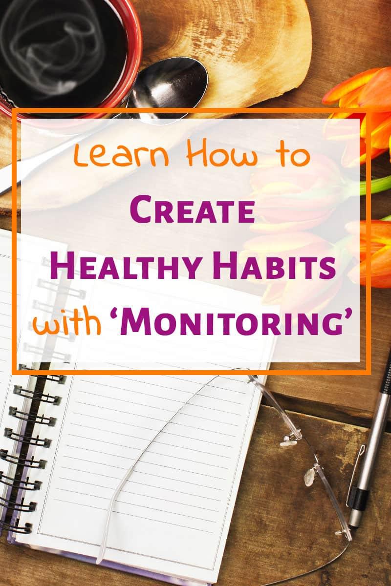 If you want to new, healthy habits, the tips here will help! Creating habits, changing habits, and gaining motivation can be tricky. Create a habit tracker and use monitoring! #habits #routine #habittracker #habitforming #motivation #bulletjournal #healthyhabits #goals #goalsetting