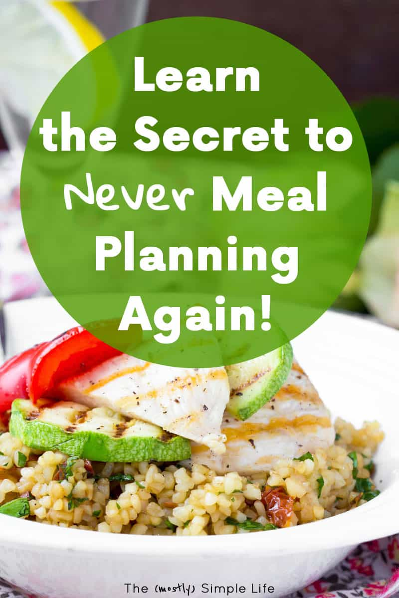 $5 Meal Plan provides a weekly menu, plus your shopping lists! Perfect for meal planning on a budget or for beginners. It's all printable with gluten free, dairy free, and vegetarian options! #mealplan #mealplanning #printablemealplan #5dollarmealplan #vegetarian #glutenfree #menu #weeklymenu #mealplanningservice #budget #affordablemealplan