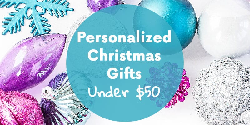 Personalized Christmas Gifts Under $50