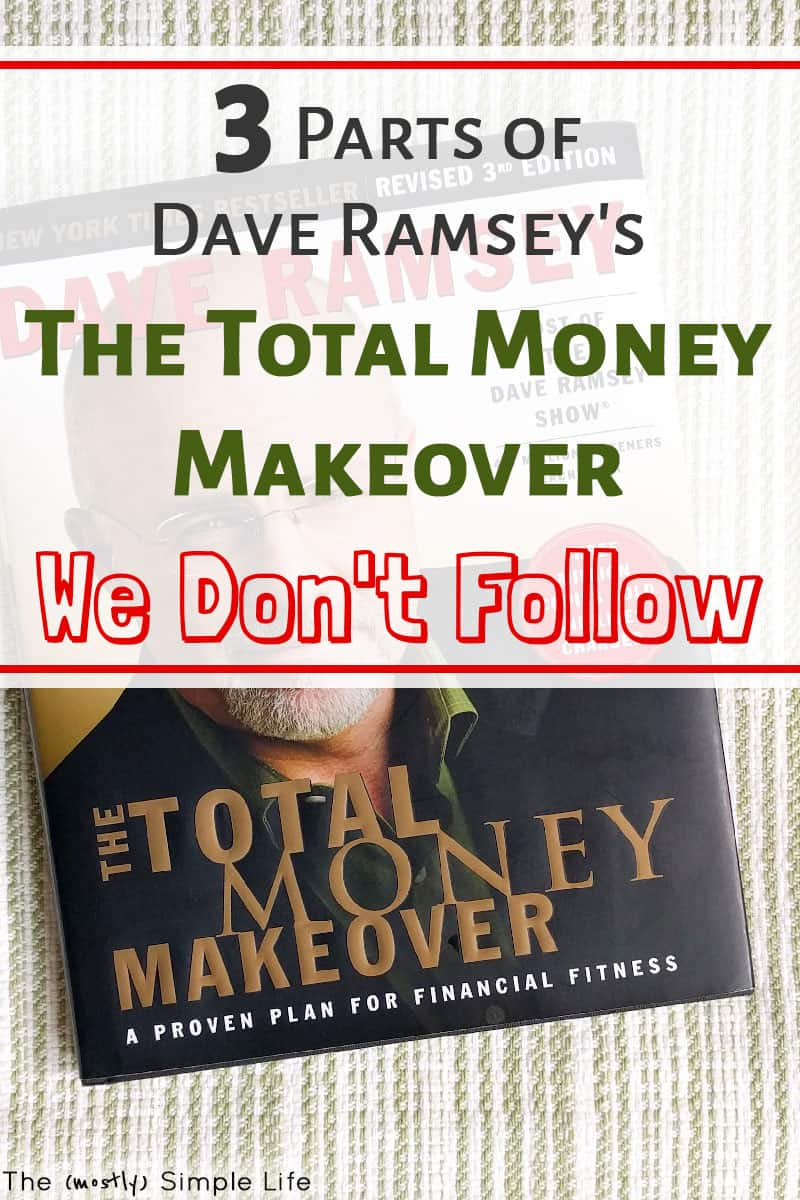 Honest review of The Total Money Makeover by Dave Ramsey. All about the baby steps, the debt snowball, how to start a budget, cash envelopes, etc! We\'re trying to become debt free and are following parts of this book. #daveramsey #TMM #totalmoneymakeover #budget #debtfree #debtfreecommunity #babysteps #debtsnowball #money #personalfinance #cashenvelopes