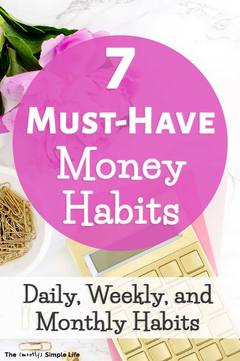 These smart habits help create the perfect system for couples or for beginners who want to get better at money management, become debt free, and enjoy living on a budget. Simple personal finance tips that successful people use when it comes to budgeting. There are a bunch of free printables and a spreadsheet you can download to improve your budgeting and finances! #daveramsey #budgeting #money