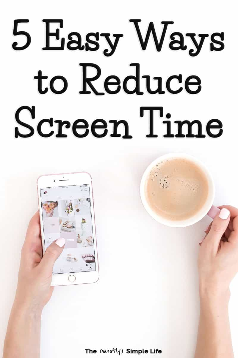 Limiting screen time is tough! Especially for adults. We could all use a digital detox from our phones, social media, video games, and more so that we can live in the moment and invest in the important relationships in our lives. These tips will give you ideas on how reduce screen time at home and explain the benefits. I challenge you to try it! #healthyliving #goals #screentime #goodlife