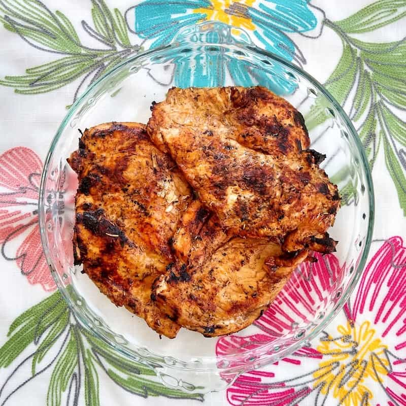 So Easy Grilled Chicken Marinade