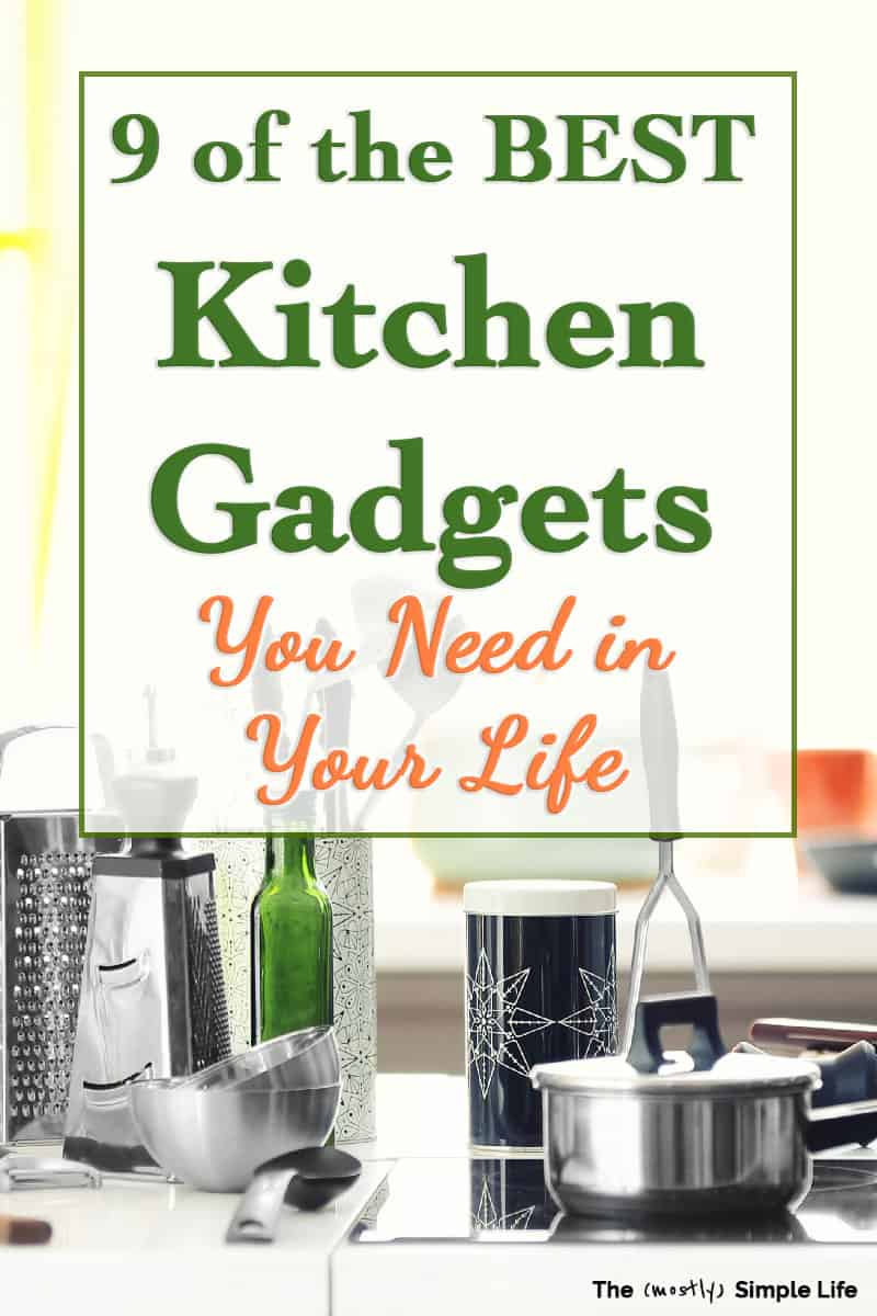 These are the best must have kitchen gadgets and gizmos! You don\'t need everything, just the most essential and useful appliances and tools. These make great gifts for cooks or ideas for a gift basket or wedding registry. You can buy them all on Amazon too! You\'re going to want these super cool kitchen products! #kitchen #kitchengadgets #weddingregistry #giftideas #giftsforcooks