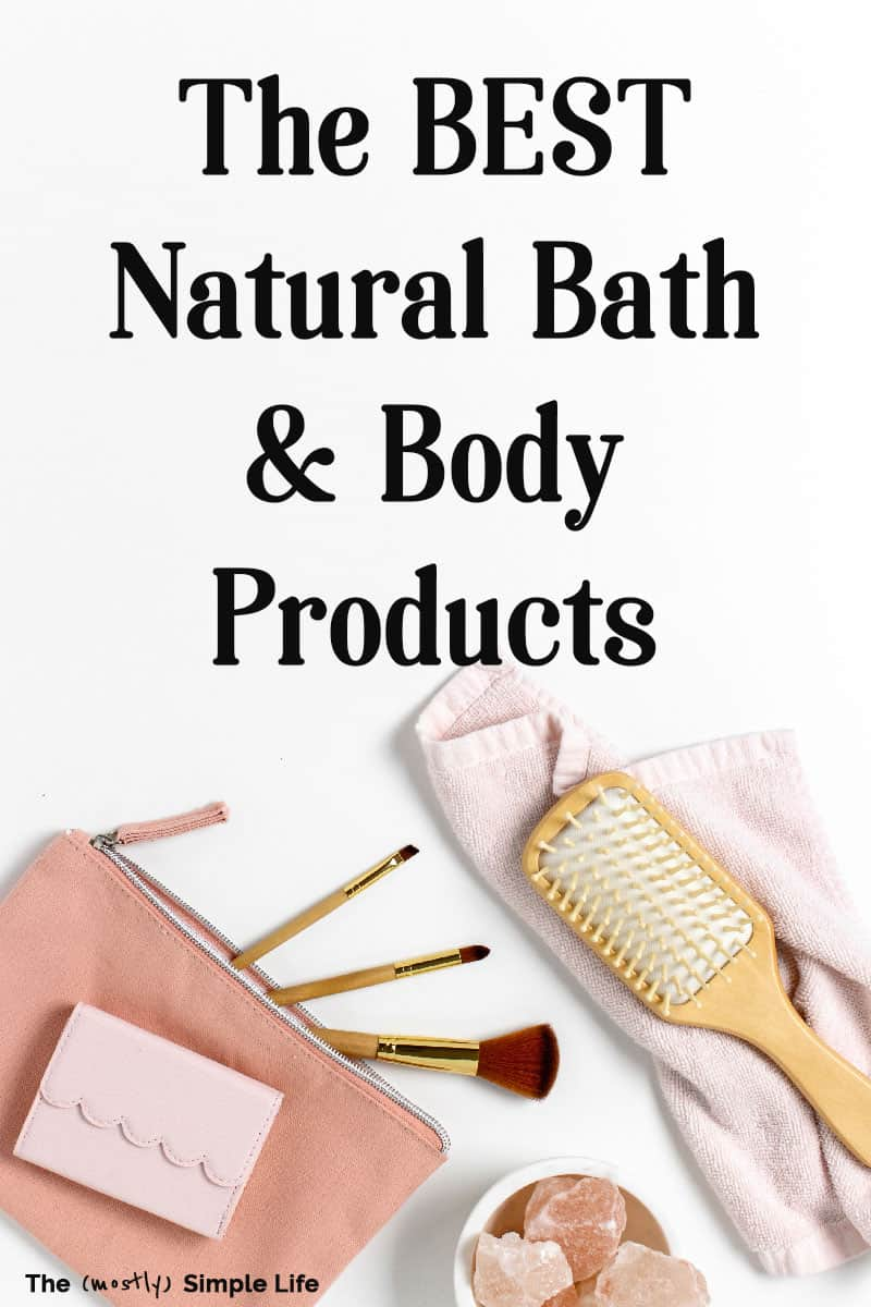 We have been using more natural, certified organic, and cruelty free bath and body products and I\'m sharing the best stuff I\'ve found! These brands make great skin care and beauty products that are actually affordable! My favorite body wash is great for acne too, and I love the natural deodorant I\'ve been using for over a year now! #natural #organic #crueltyfree #bath #beauty #best
