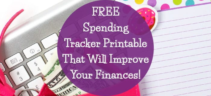 FREE Spending Tracker Printable That Will Improve Your Finances!