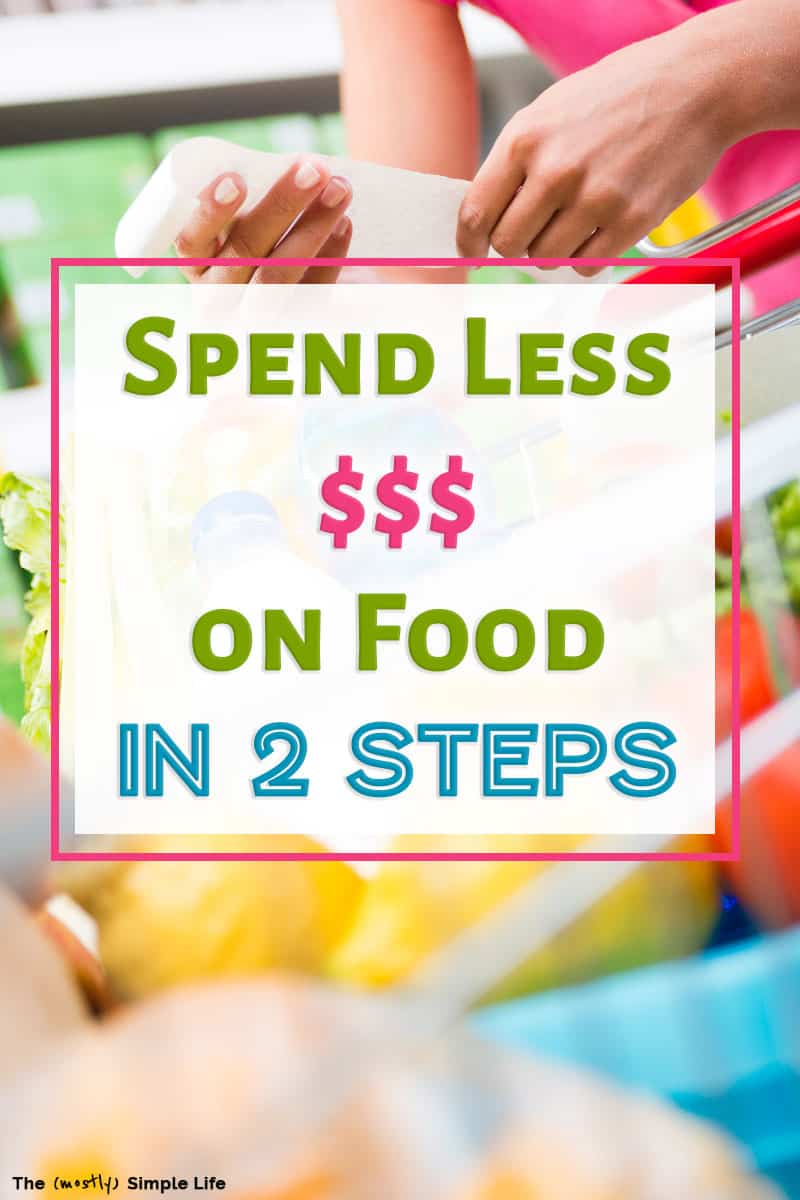 Learn how to save money on groceries with these simple frugal living tips and tricks! These work for families of any size, if you eat super healthy/cleaning eating, and whether you have access to an Aldi store or not. Improve your personal finance skills, save more money and eat well! #groceries #savemoney #food #frugal