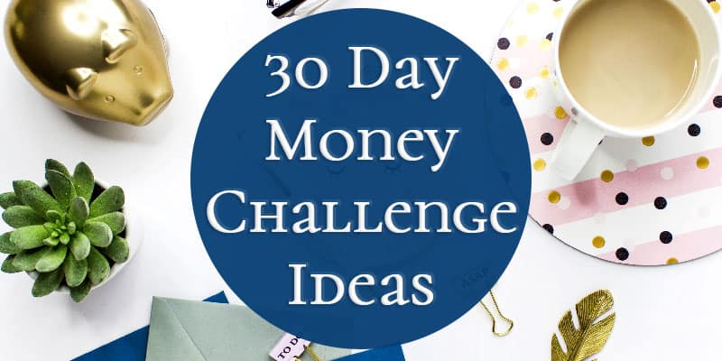 30 Day Money Challenge Ideas