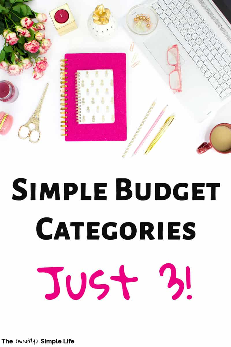 Figuring out budget categories for your personal budget can be super simple! Some people use Dave Ramsey\'s envelope method, others focus on percentages. Your monthly budget just needs to make sense to YOU and work for YOU! Living on a budget can be simple with just three budget categories - great for couples and beginners! #budget #categories #frugal #onabudget #FIRE