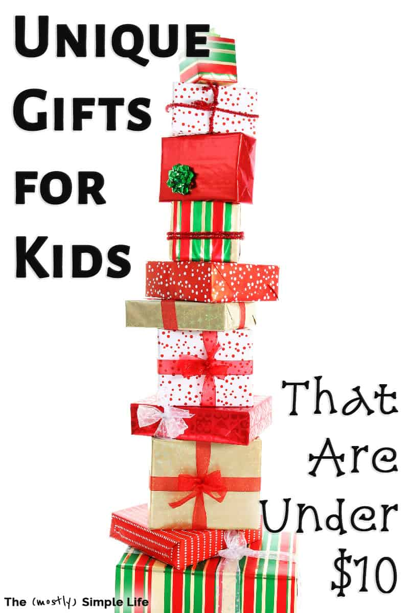 Cheap Gifts for Kids: Fun & Unique Ideas