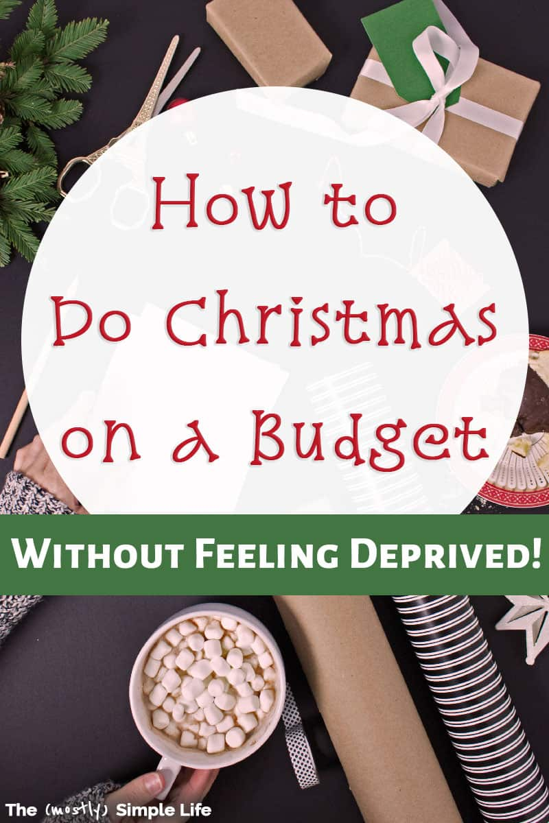 How to Have a Fun & Frugal Christmas
