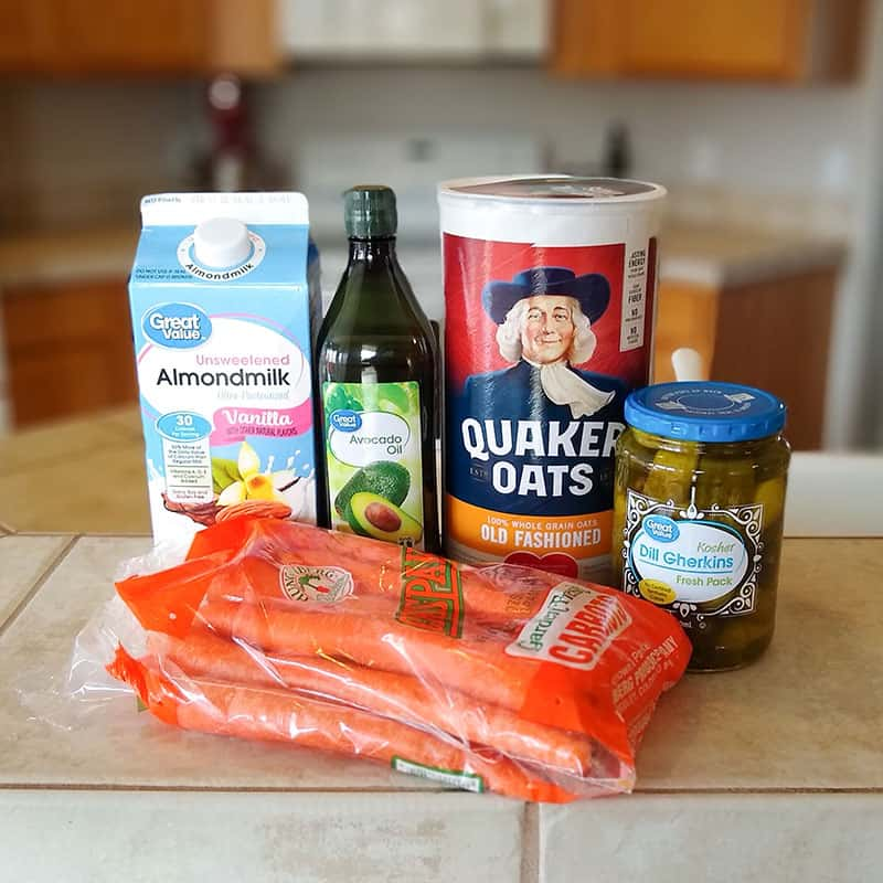 Food from Walmart Grocery Pickup