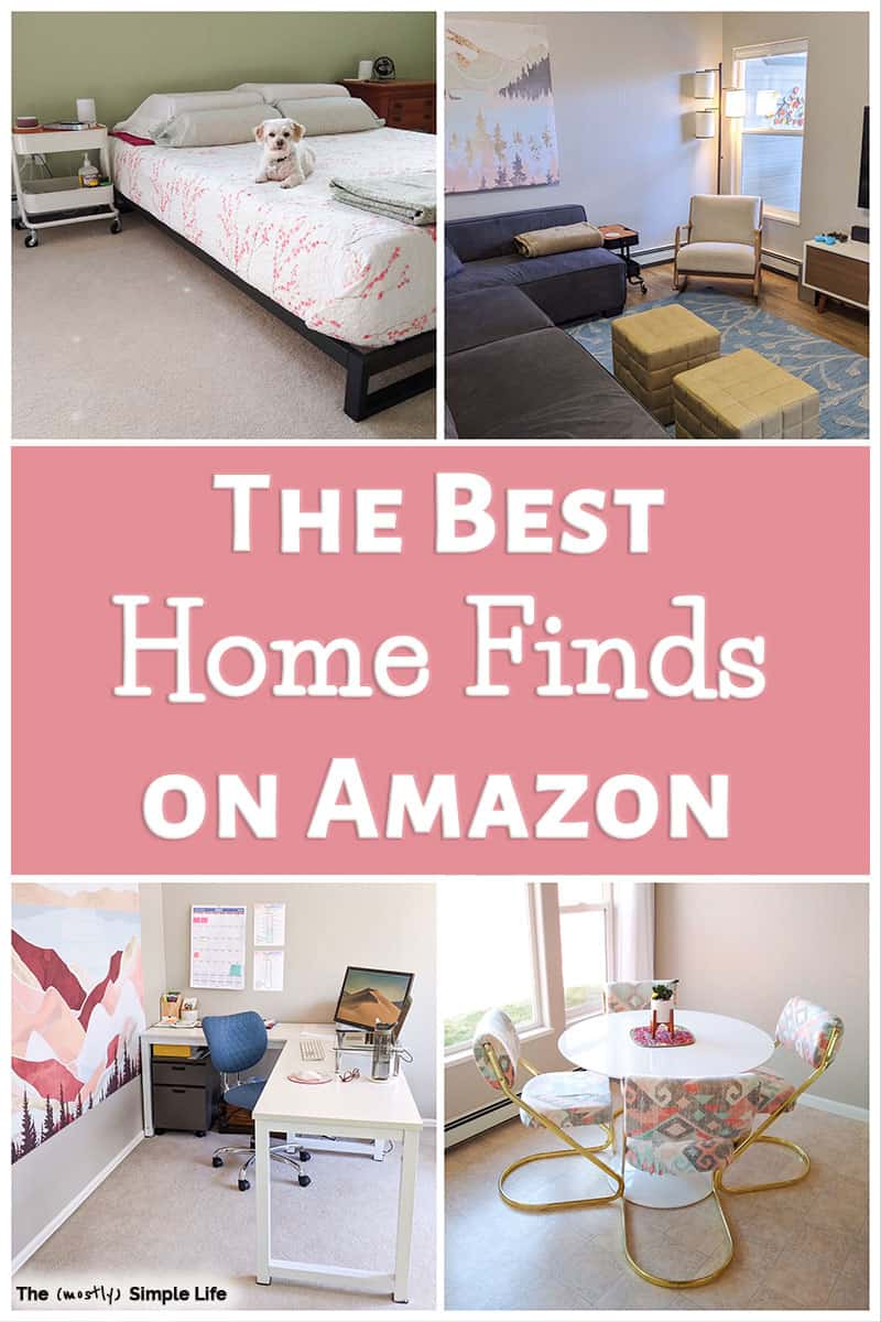 My Favorite Amazon Furniture and Home Decor Finds