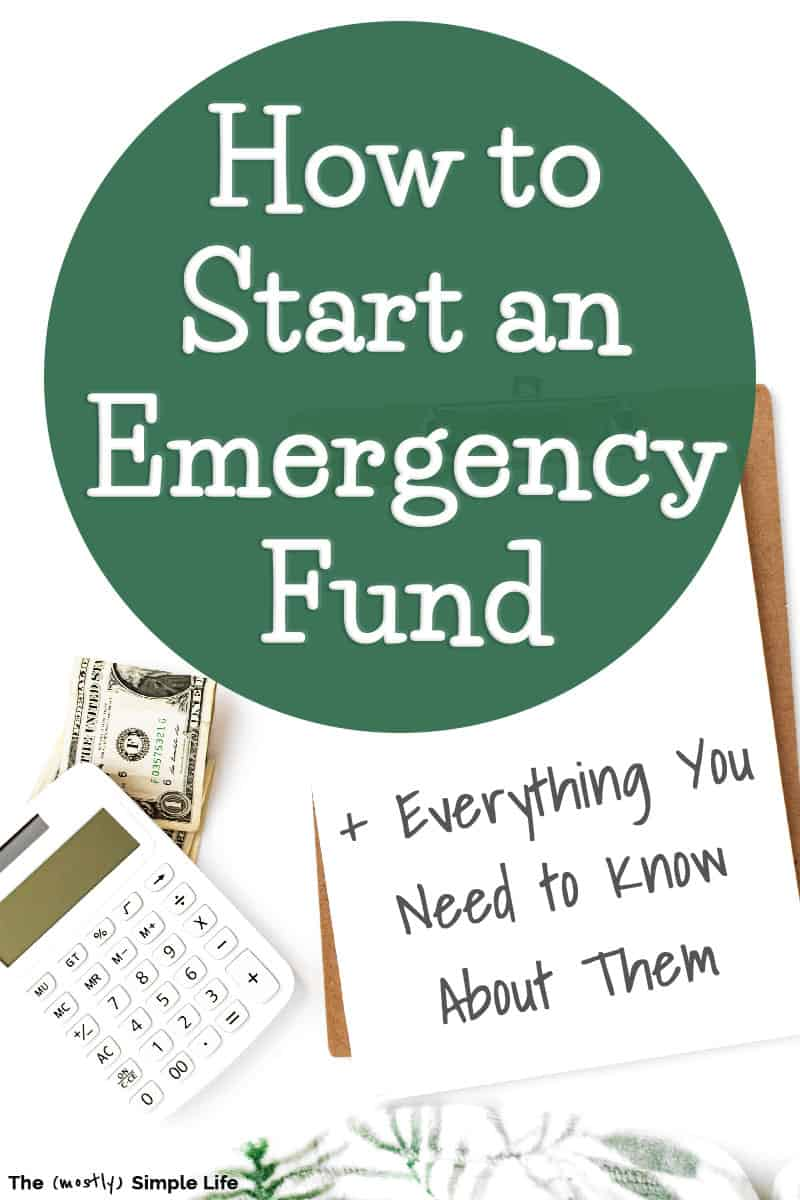 Emergency Fund 101: Everything You Need to Know