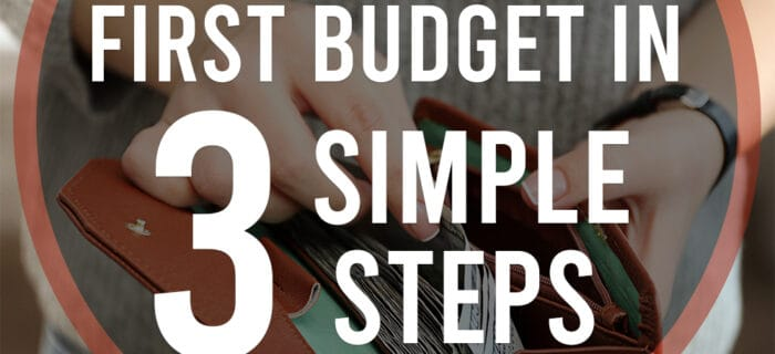 Create your first budget