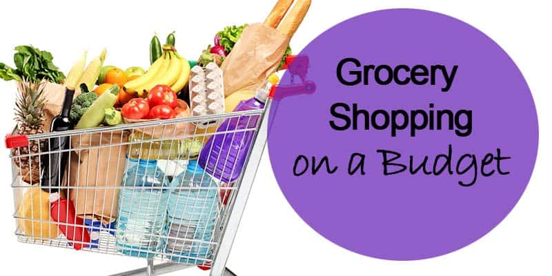 Grocery shopping on a budget header image