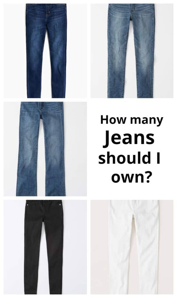 How many jeans should i own? header banner