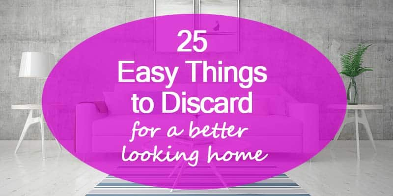 25 things to declutter home