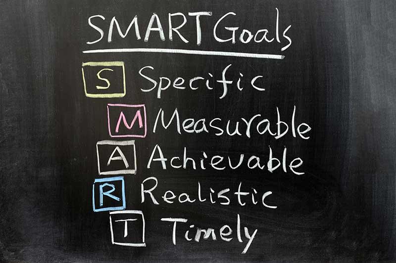 SMART goals mid-term goals