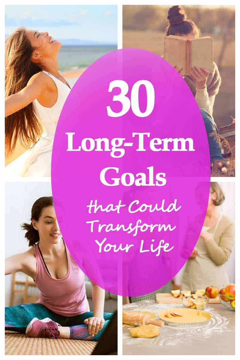 Examples of Long Term Goals For a Successful life