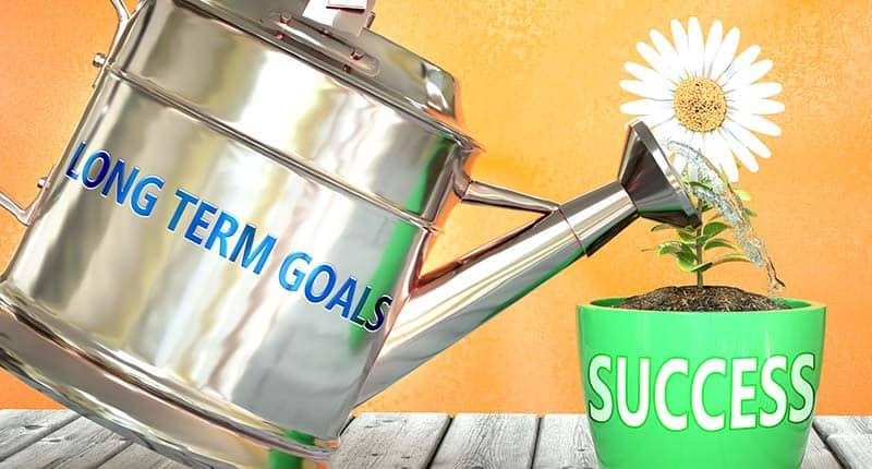 long-term goals breed success