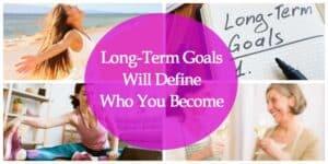 long term goals header