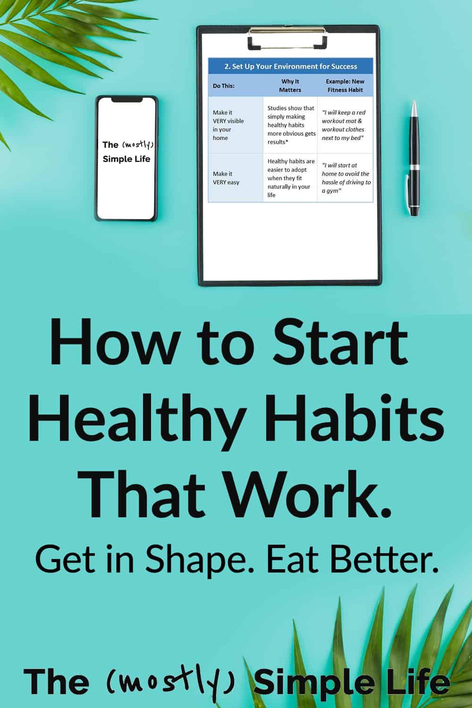 Top 3 Ways to Build Healthy Habits (The Healthy Habit Scorecard)