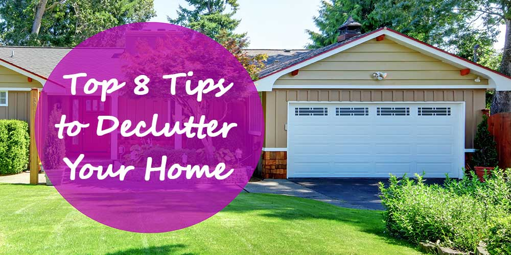 8 tips to declutter