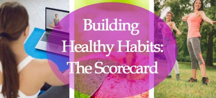 Header image for building healthy habits