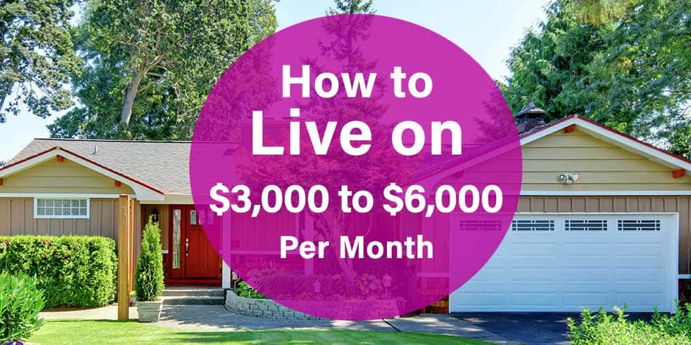 budget example how to live on 3000 to 6000