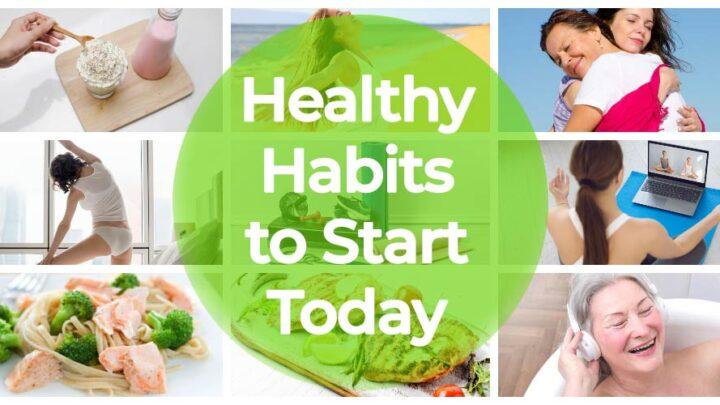 healthy habits to start header