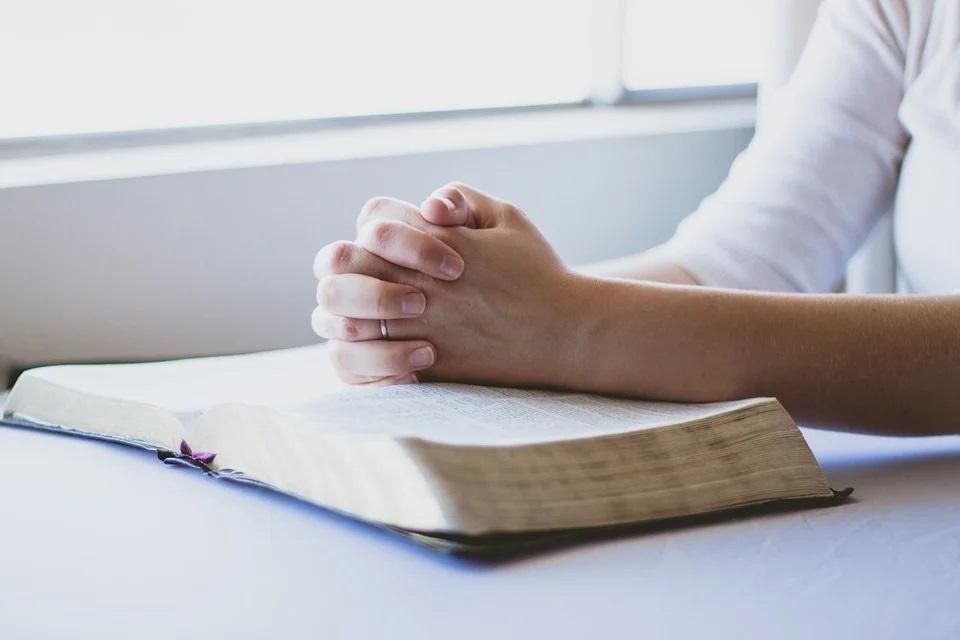 person prayer