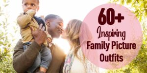 header image showing family picture outfits
