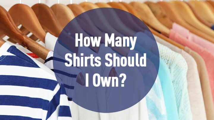 how many shirts